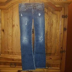 Silver Pioneer Jeans 26/33